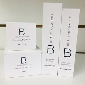 BEAUTYCOUNTER REJUVENATE LOOSE ITEMS ALL SEALED